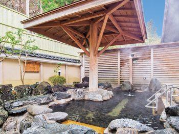 【注目の日帰り温泉】打たせ湯、露天、泡風呂で2本の自家源泉を満喫