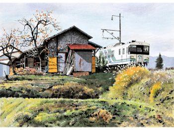 郡山市在住の画家・橋本広喜が描く福島の四季