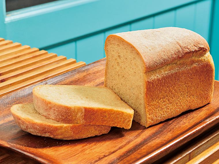 「焙煎玄米食パン」ワンローフ350円