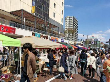 ハンドメイド作家が福島駅東口に大集合!