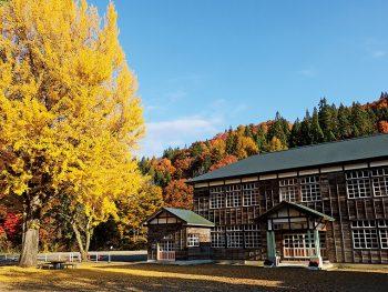 昭和の郷愁誘う木造校舎「喰丸小」をテーマにしたフォトコンテスト開催中