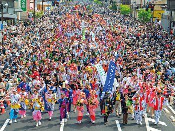 東北6県の祭りが揃う『東北絆まつり』、福島市で開催!!