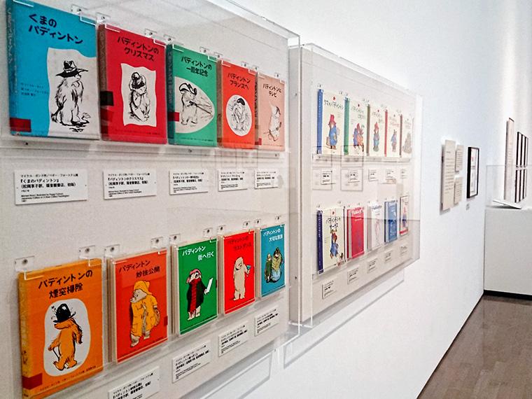 写真は、2019年6月23日(金)まで開催中の群馬県立近代美術館での展示の様子
