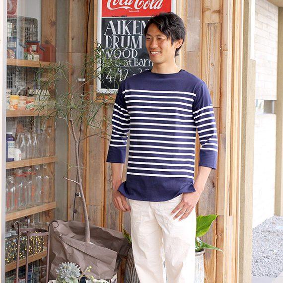 ナバルシャツ『St.James』13,824円、ファティーグパンツ『or slow』16,848円