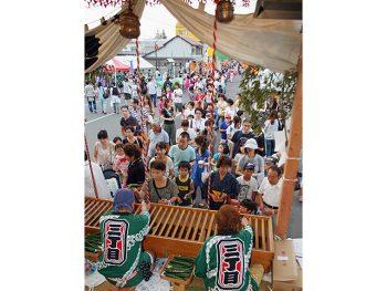 キュウリを供えて、一年の無病息災を祈る須賀川市伝統の祭り