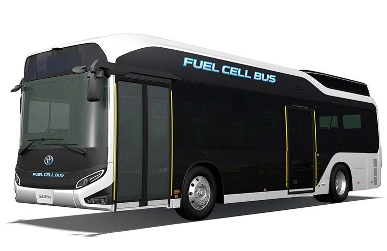 燃料電池バス「トヨタ・SORA」