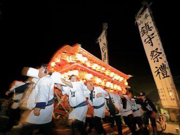 大蛇伝説が残る福島市飯坂町茂庭地区「白鳥神社」の祭りを観に行こう