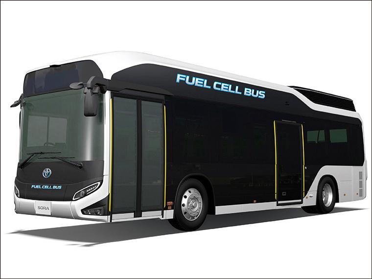 東京2020大会に向けて!福島市で水素で走るバスの体験試乗会