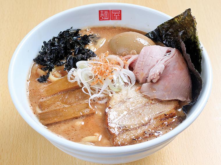 エビの旨みを凝縮した濃厚なスープが堪能できる、福島市の新ラーメン店