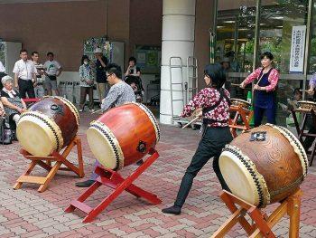 福島市・一番丁商店街の夏まつり!縁日コーナーや太鼓演奏も