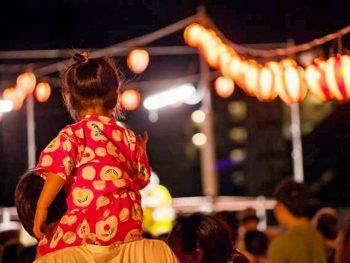 『道の駅 伊達の郷りょうぜん』でビアガーデンと霊山町小国の盆踊りとのコラボイベントを開催!!