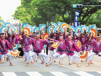 仙台に伝わる、活気あふれる伝統の舞『すずめ踊り』