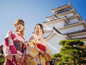 気軽にレンタル!着物に袖を通したら、城下町会津をまち歩きしちゃおう♪