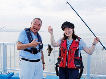 新地町に再オープンした『海釣り公園』で海釣りに挑戦!