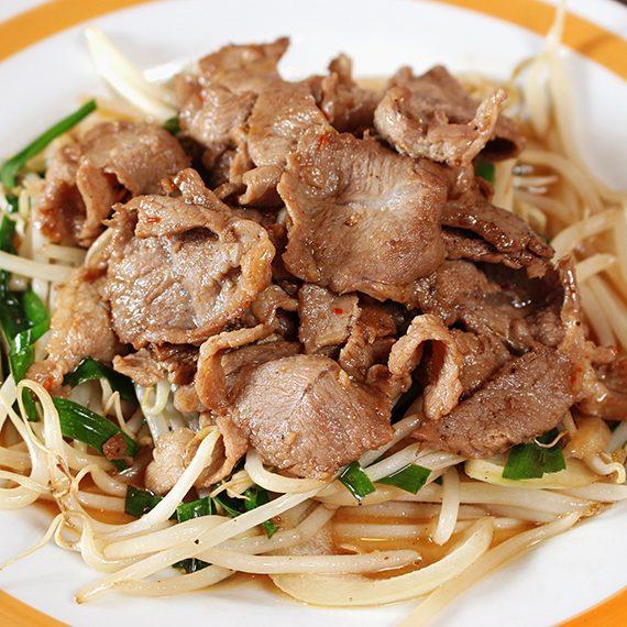 「ラム肉クミン炒め」(1,078円)