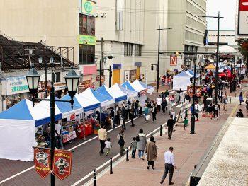 「福島ユナイテッドFC」が街なか盛り上げイベント開催!選手も登場!!