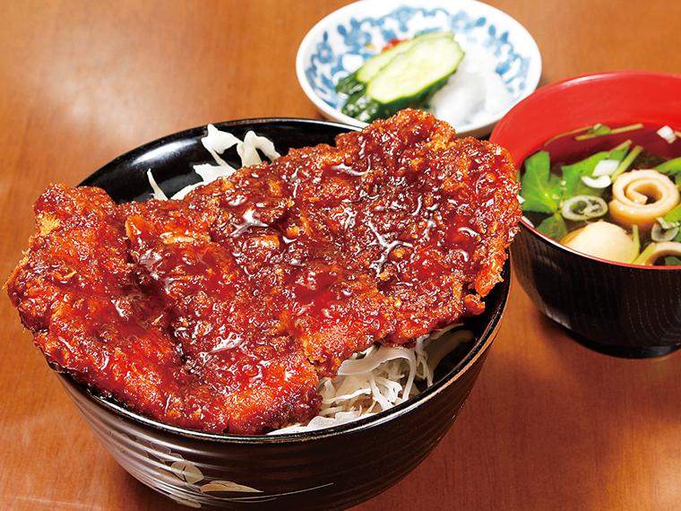 「ソースカツ丼」(800円)