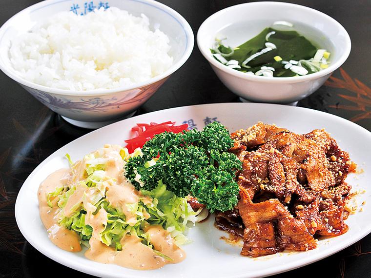 「焼肉ライス(豚肉)」(820円)