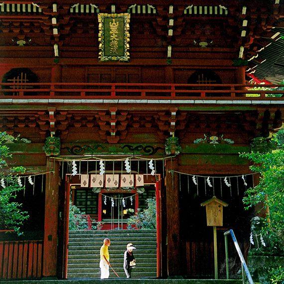 茨城県・花園神社(写真:2018年度A賞受賞作品)