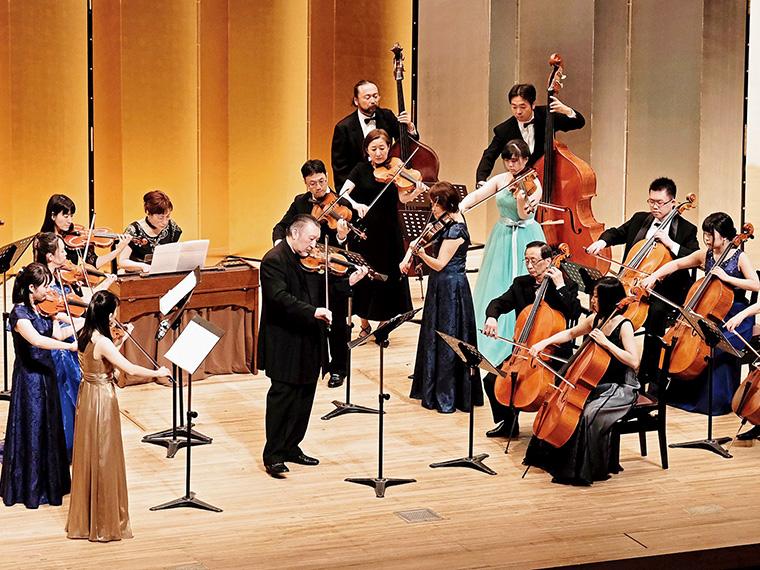 NHK交響楽団のコンマス・篠崎史紀氏、チェリスト・篠崎由紀氏がゲストに