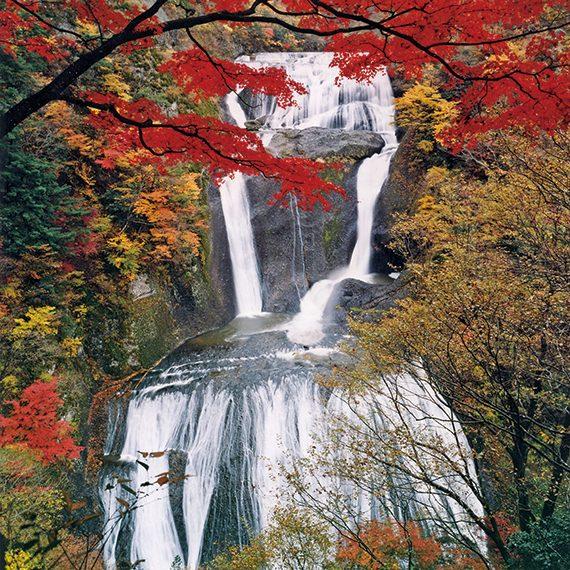 茨城県・袋田の滝