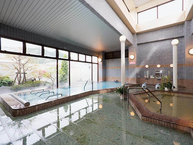 バリエーション豊かな風呂がある大浴場