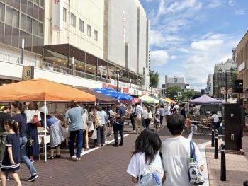 ハンドメイド雑貨が福島駅東口に大集合!