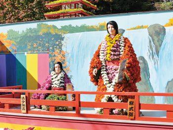 伝統の「二本松の菊人形」と、洋菊の祭典「マムフェスティバル」同時開催!