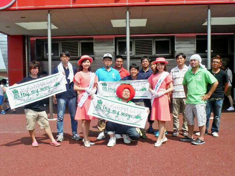 主催は福島県内外で直売イベントなどを行っている「福島市農業後継者連絡協議会」