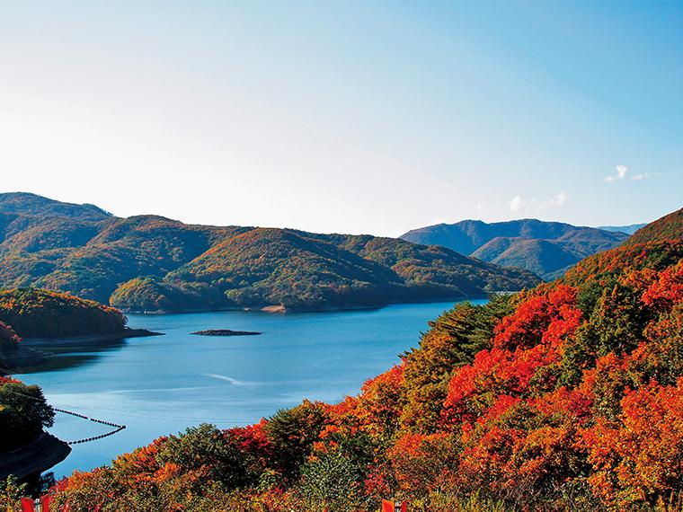 羽鳥湖(写真提供/天栄村)