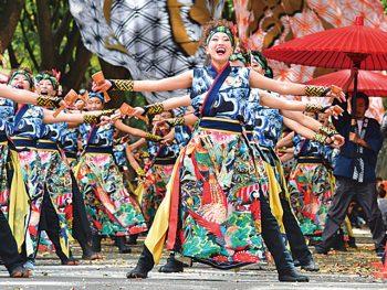 仙台市に全国の踊り子が集合!それぞれ個性ある演舞を披露