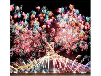 珍しい唐傘行灯花火も!須賀川市岩瀬地区の秋まつり