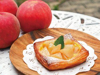 福島のおいしい果物を温かい料理で提供するキャンペーン!第一弾は「モモ」