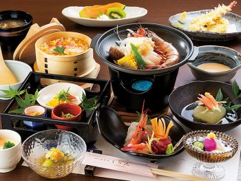新料理長が魅せる和食の技と日本酒をぜひ