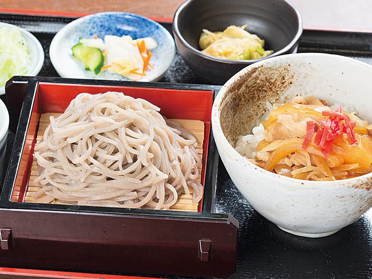 「そばランチ」(850円)