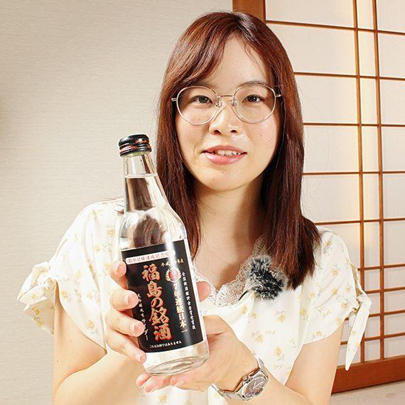 見た目は完全に日本酒です…