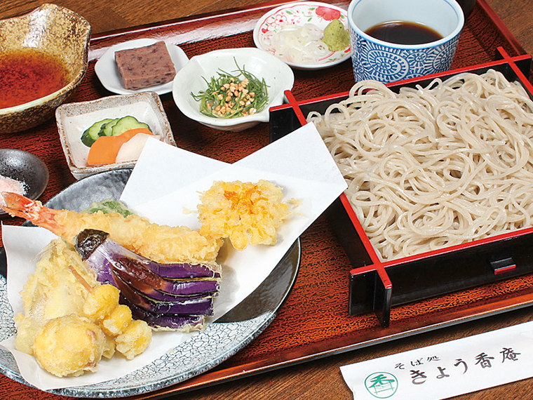 「えび天せいろ」(1,350円)