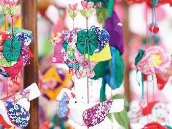 立春の須賀川を彩る「つるし飾り」を観に・作りに行くランチ付きツアーを開催!