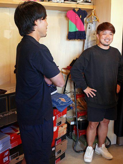私服が「TRUNK23」の代表・岩井さんと似てました