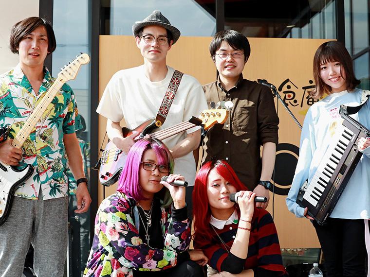 2019年5月、「道の駅 伊達の郷りょうぜん」のGWイベントに出演した際のメンバー