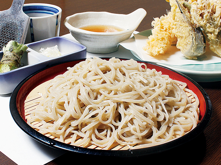 「天ぷら付せいろ」(1,760円)