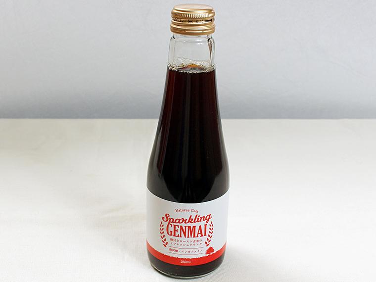「Natures Cola Sparkling GENMAI」(480円)