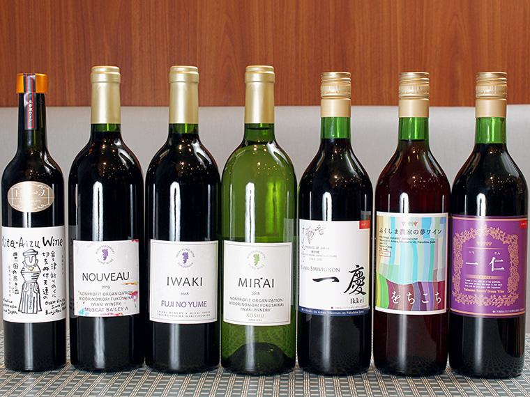 飲み比べできるワインはこちら!今後さらに種類が増えるそう
