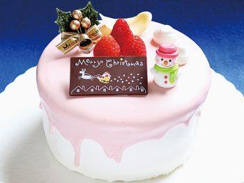 【おすすめクリスマスケーキ】メルティーフレーズ/いちごサンドの生クリームケーキ(5号・4,104円)