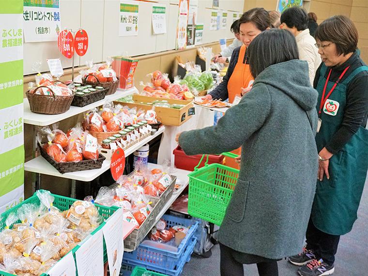 農業と福祉の連携によって作られた商品も多数販売