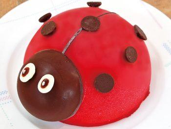 【おすすめクリスマスケーキ】Ladybug/てんとうむし(3,240円)