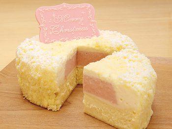 【おすすめクリスマスケーキ】Xmasドゥーブル(4号・2,500円、5号・3,600円)
