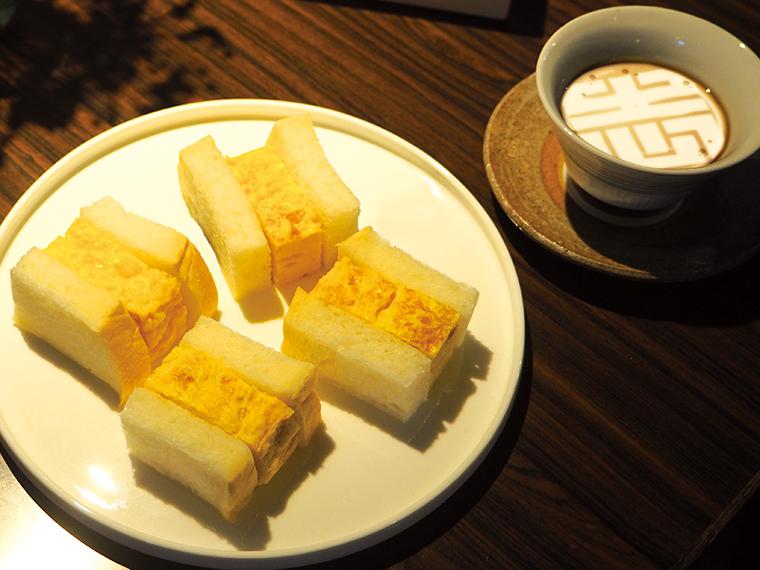 今後発売予定の「~つきぢ松露コラボ~だし巻き玉子サンド」。東京・築地で半世紀以上もの間愛され続ける玉子焼き専門店「つきぢ松露」とのコラボレーション商品