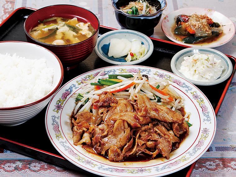 「焼肉定食」(850円)