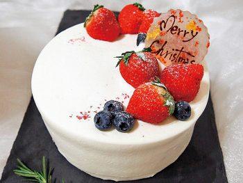 【おすすめクリスマスケーキ】いちごのケーキ(5号・3,800円、6号・4,700円)